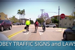City of San Diego Vision Zero Bicyclist Safety Tips