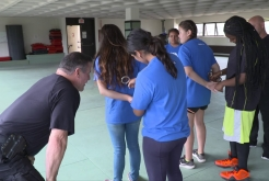 Students Participate in First SDPD Jr. Academy