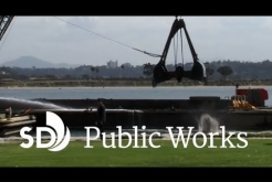 Mission Bay Dredging Project Underway
