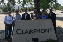 Clairemont Community Sign Restored
