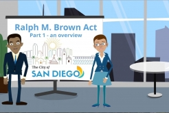 Ralph M. Brown Act Overview