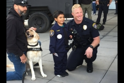 SDPD Makes Boy's Wish Come True
