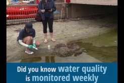 City Scientists Monitor Water Quality