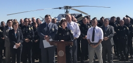 Police Officer Association Agreement News Conference