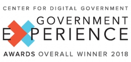 Center for Digital Government - 2018 Government Experience Overall Award Winner