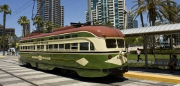 photo of trolley car