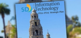 Cover of Information Technology FY21 - FY25 Strategic Plan