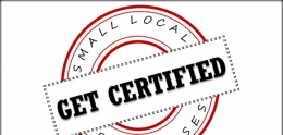 Logo of Get Certified, Small Local Businesses