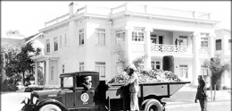Photo of Historical Waste Management Truck