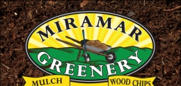 Graphic of Miramar Greenery Logo