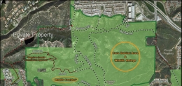 Map of new trails on Carmel Mountain and Del Mar Mesa