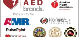 collage of Project Heart Beat partner's logos