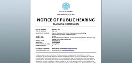 City Bulletin of Public Notices