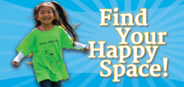Find your happy space!