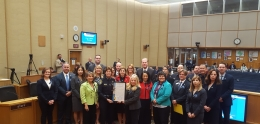 Human Trafficking Awareness Month Proc