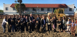 San Ysidro Library Groundbreaking