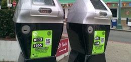 Photo of parking meters
