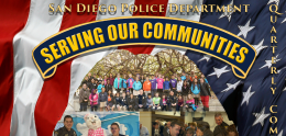 Quarterly Community Policing Report cover page