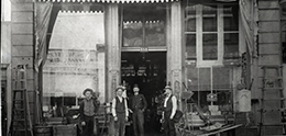 historical photo of San Diego Hardware Company