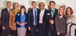 photo of Planning Dept Staff taken at San Diego Section of the American Planning Association (SDAPA) awards banquet