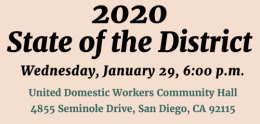 2020 State of the District