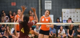 photo of volleyball game
