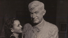 1935-36 California Pacific Exposition, Bust of Will Rogers
