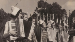 1935-36 California Pacific Exposition, Accordion Players