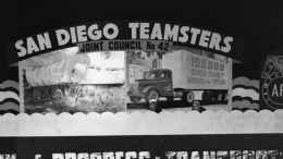 1949 Fiesta Bahia Float -  San Diego Teamsters Joint Council 42