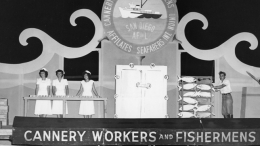 1949 Fiesta Bahia Float -  Cannery Workers and Fishermens Union