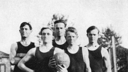1914 Basketball Champions at Rose Park
