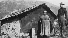 Bessenti and Sam on Capitan Grande Indian Reservation in 1912