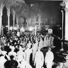 Horton Fountain Military Event circa 1917