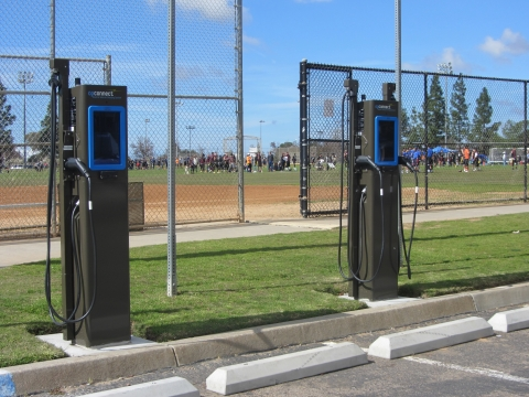 Hourglass Community Park EV Charging Station, Mira Mesa