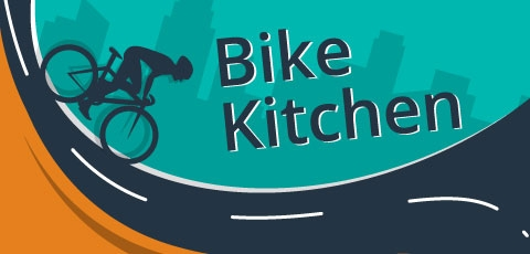 Bike Kitchen Graphic