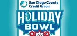 Graphic of Holiday Bowl San Diego Logo
