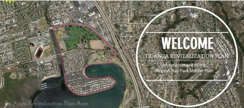 Aerial view of De Anza Cove
