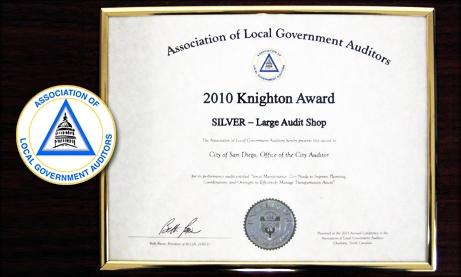 Photo of 2010 Knighton Award