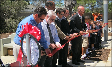 Photo Cabrillo Heights Ribbon Cutting Ceremony