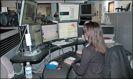 Photo of Dispatch Center