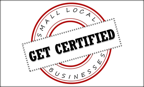 Get Certified - Small Local Businesses
