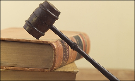 Photo of books and a gavel