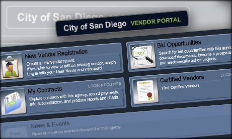 Image of BidsOnline screen