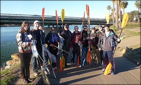 Photo of District 7 Participating in Annual San Diego River Clean-Up
