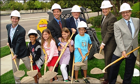 Photo from Ted Williams Parkway Pedestrian Bridge Project Groundbreaking Ceremony