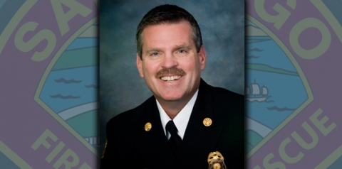 Photo of Fire Chief Brian Fennessy
