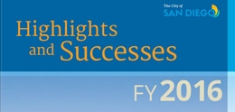 Photo of Highlights and Successes FY2016 Cover