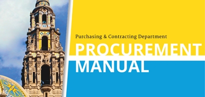 Procurement Manual cover page