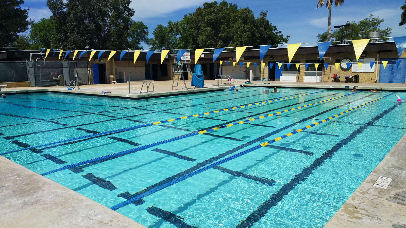 Swanson pool city of san diego official website for Garden city swimming pool hours