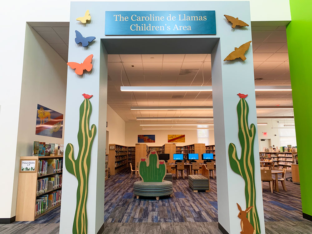 Children's Area at the San Ysidro Library